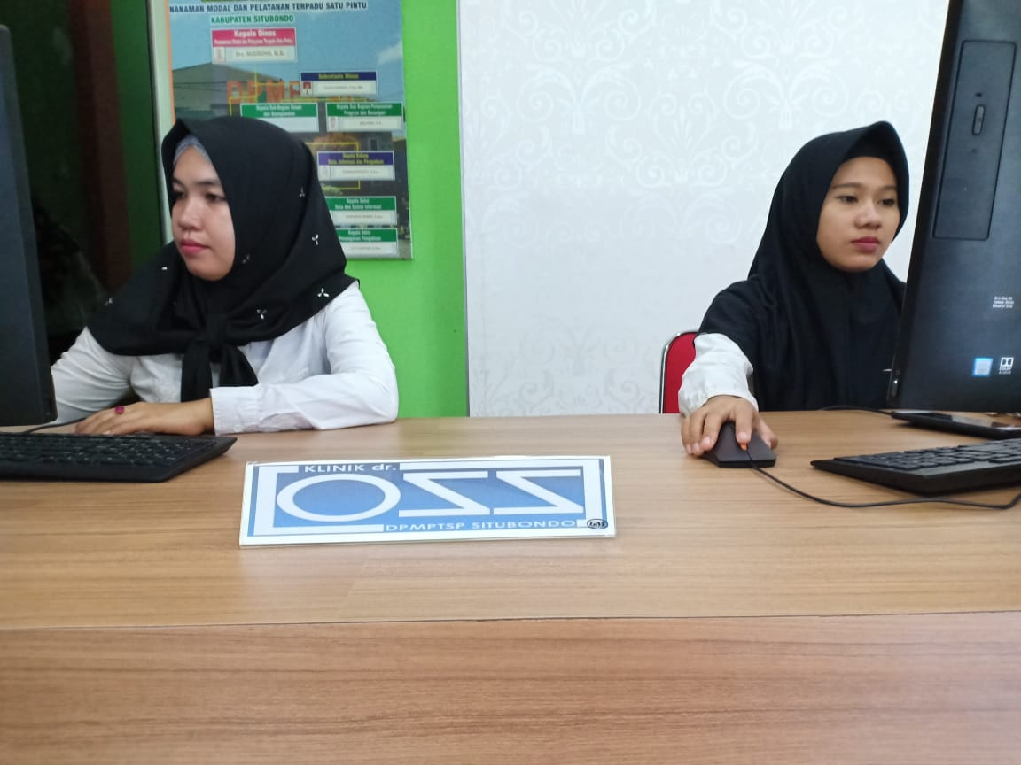 Pelayanan Klinik OSS (Online Single Submission) DPMPTSP Kabupaten Situbondo